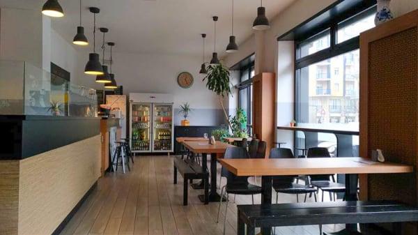 Sala del ristorante - Pizza Phi, Turin