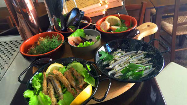 Alcuni piatti - La Locanda del Luppolo, Porto Recanati