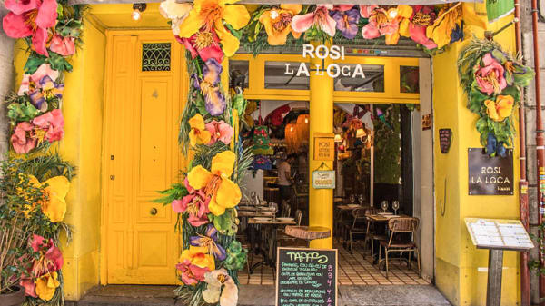 Entrada Rosi la Loca - Rosi La Loca Taberna, Madrid