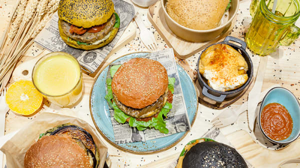 Sugerencia del chef - Veggie Burger by Biocenter, Barcelona