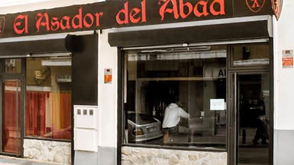 entrada - El Asador del Abad, Madrid