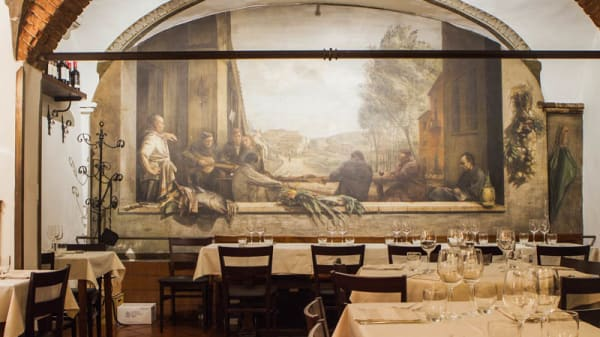Sala del ristorante - Natalino, Florence