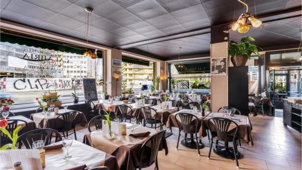 La salle - Pizzeria Calabria Scalea, Genève