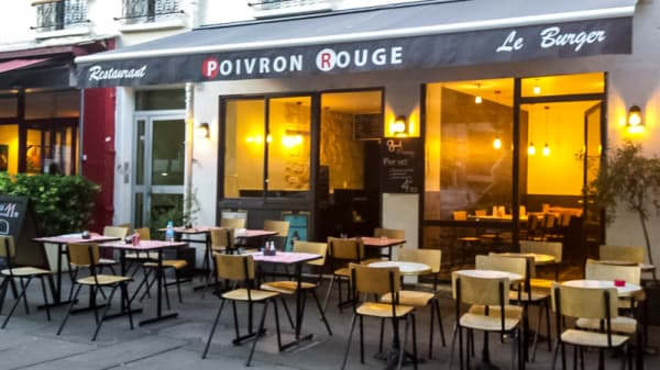 Devanture - Poivron Rouge, Paris