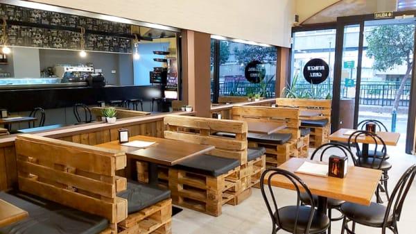 Vista del interior - Burger Grill, Zaragoza