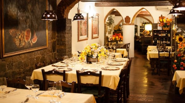 Sala - Hostaria del Bricco, Florence