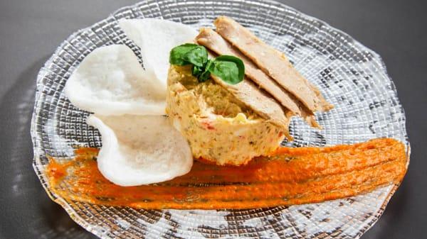 sugerencia del chef - Café del Rey, Madrid