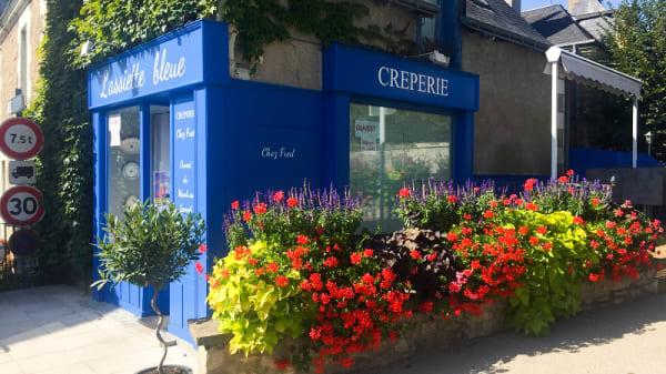 Entrée - Crêperie L'Assiette Bleue, Beaumont-la-Ronce