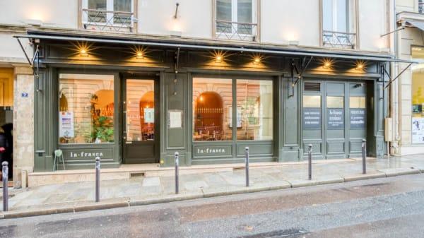 Façade - La Frasca, Paris