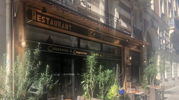 Terrasse - Le Touareg, Paris