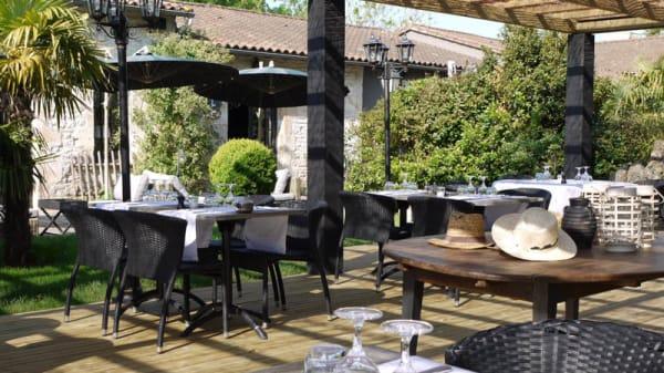 Terrasse - Domaine de la Tuilerie, Bessines