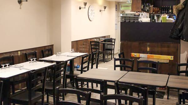 Salle du restaurant - Saami, Levallois-Perret