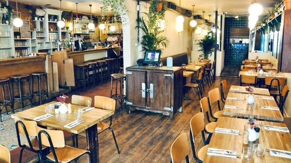Salle du restaurant - La Mercerie, Paris
