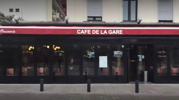 Façade - Café de  la Gare, Maisons-Alfort
