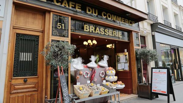 Bienvenue au restaurant Le café du Commerce - Le Café du Commerce, Paris