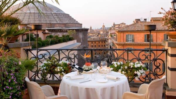 terrazza con vista - Minerva Roof Garden, Roma