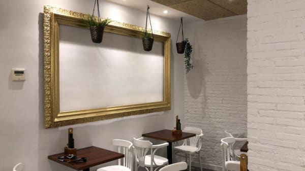 Vista de la sala - Coffee Corner Poeta Quintana, Valencia