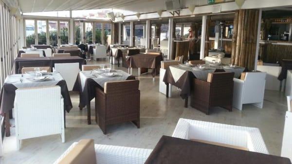 sala veranda ristorante - Faber Beach, Rome