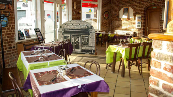 Vue de l'intérieur - Brasserie des francs, Tourcoing