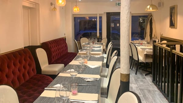 Salle du restaurant - La Paillote Royale, Paris