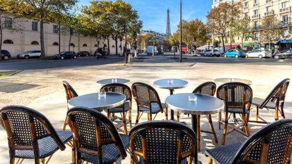 Terrasse - Café La Comtesse, Paris