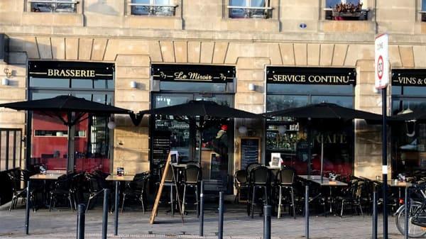 Entrée - Le Miroir, Bordeaux