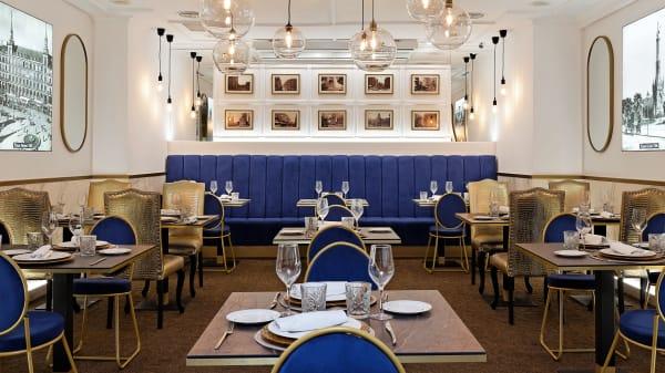 Vista Sala Gastrovia 61 - GastroVía 61 – Hotel Mayorazgo, Madrid