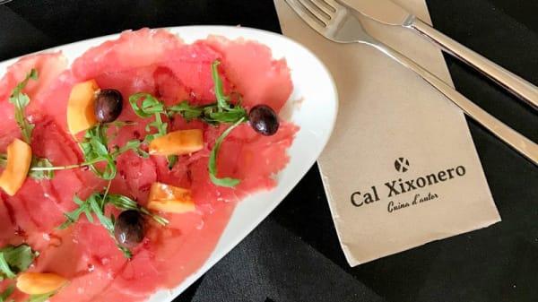 Sugerencia de plato - Cal Xixonero, Jalón
