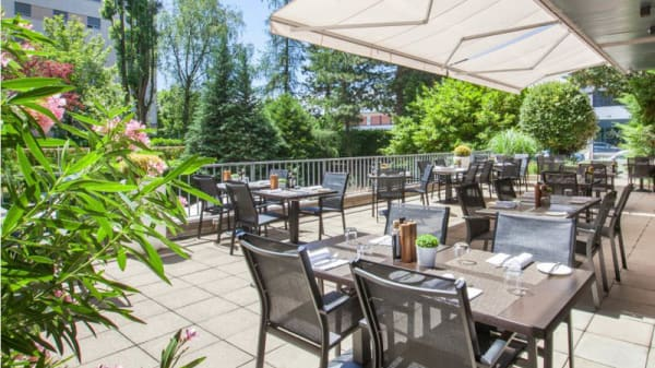 terrasse côté jardin - Seventy5, Cointrin
