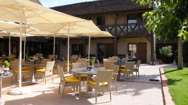 terrasse - Auberge du Cheval Blanc