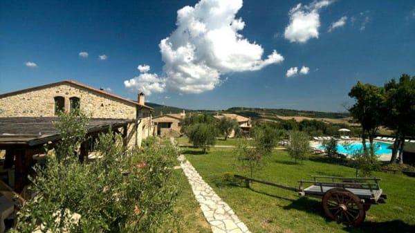 Facciata del ristorante - La Locanda del Borgo, San Gimignano