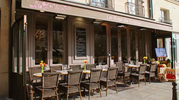 Bienvenue au restaurant La Rose de France - La Rose de France, Paris