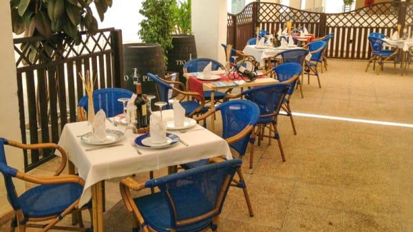 Terraza - Arrocería Ballena, Rota