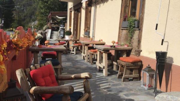Terrasse - Le Relais de Vuargny, Aigle