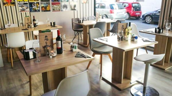 Sala - Passion Café, El Tablero