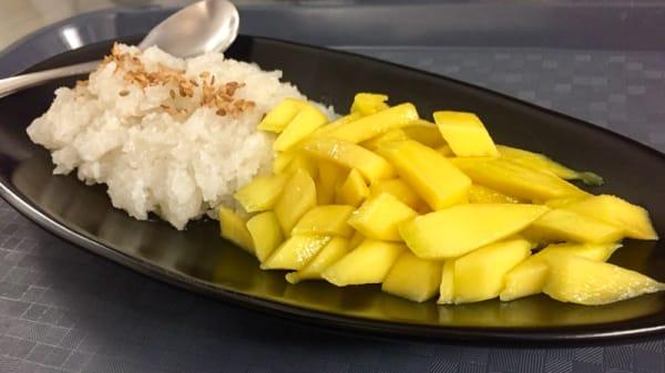 Dessert riz gluant à la mangue - O'Bangkok, Rouen