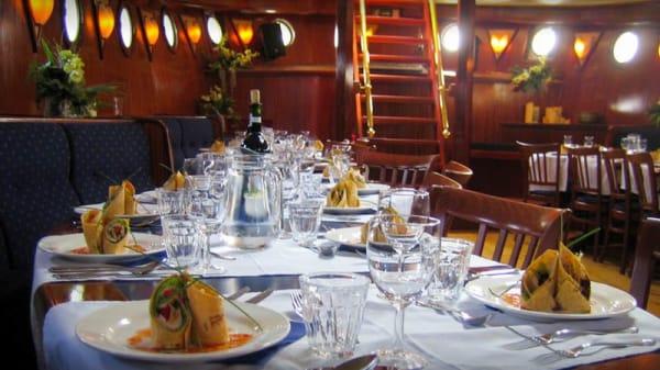 Het restaurant - Zeilschip Bounty, Lelystad