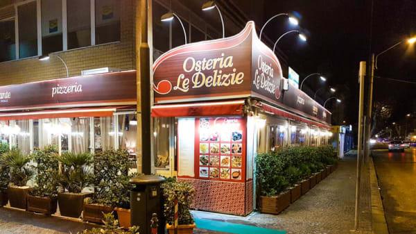 Esterno - Osteria Le Delizie, Rimini
