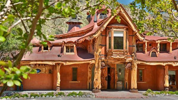 Entrada - Casa Bosque, Santiago de Chile