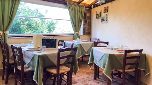 Salone ristorante - La Vecchia Mola, Cesano