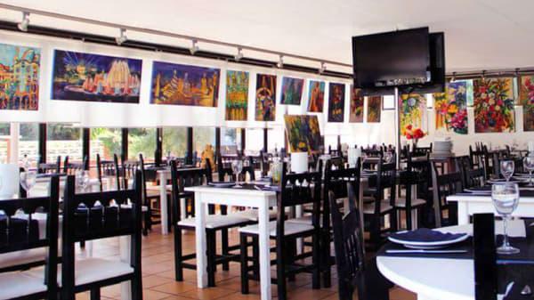 Sala del restaurante - Can Pere Martí, Castelldefels