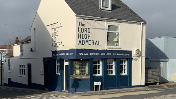 The Lord High Admiral, Plymouth