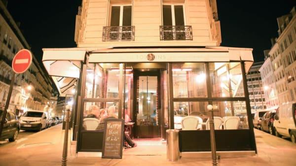Devanture - Les Tontons du Huitième, Paris