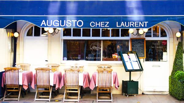 Vue de la terrasse - Augusto Chez Laurent, Deauville