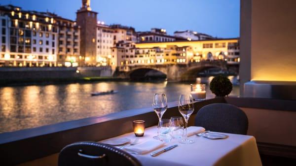 Sala del ristorante - Borgo San Jacopo, Firenze