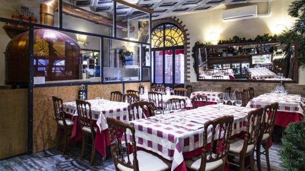 Vista sala - Il Cestino, Milan