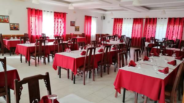 Vista da sala - Sangam Indian tandoori restaurant, Lagos