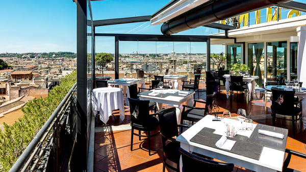 Terrazza - The Flair - Rooftop Bistrot, Roma