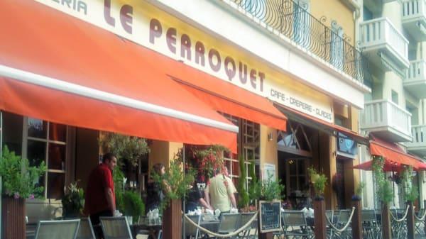 Entrée - Le Perroquet, Cassis