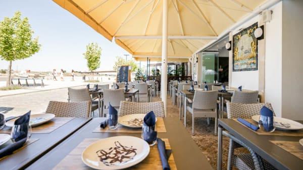 Esplanada - Restaurante Marés, Tavira